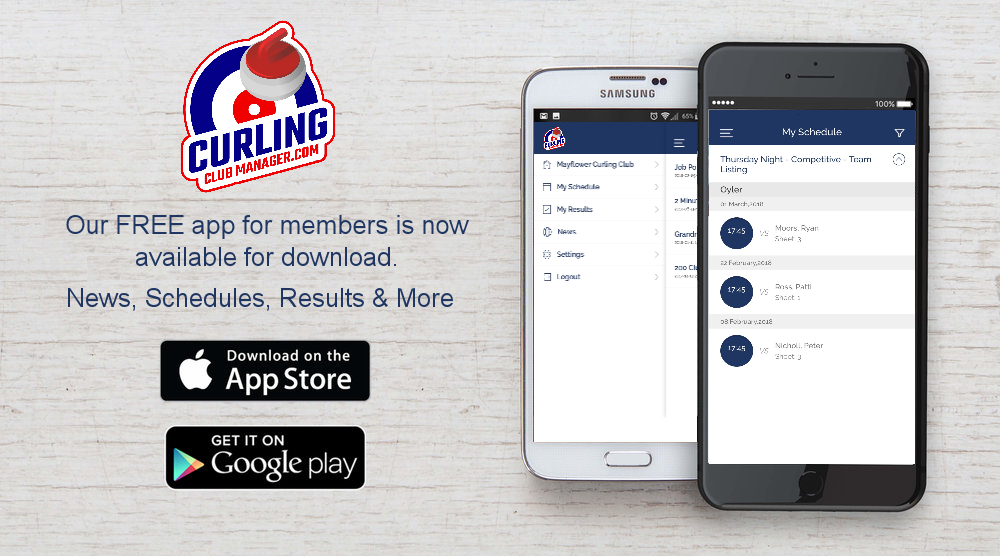 Curling Club Manager Free Mobile App